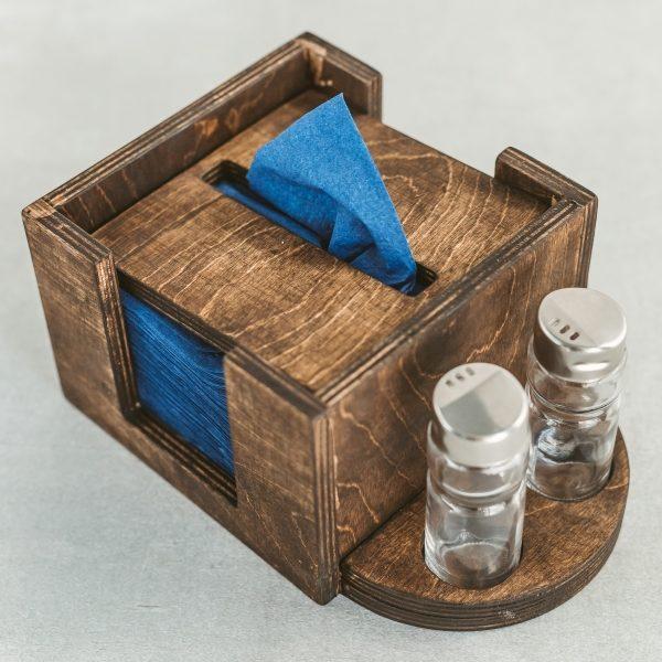 Individualaus dizaino servetėlių dėžutė