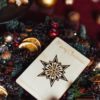 kaledines verslo dovanos - mediniai atvirukai